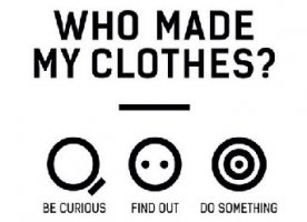 WHO MADE MY CLOTHES??