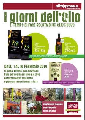 I giorni dell'olio del solidale italiano